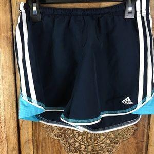 Adidas girls shorts size large